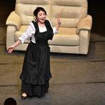 オペラ「見てくれの馬鹿娘」ニネッタ役のアリア中です!とても楽しかったです♪