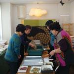 竹紙の紙漉き体験