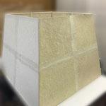 竹紙を使用した空気清浄機のシェードです。東京のスポーツジムで採用されました。