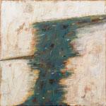 Den Augenblick einfangen; Eitempera auf Leinwand mit Sand, 2018, 100 x 100 cm