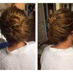 Hairstyling #Hairstylist #Mobil Hairstylist #Mobil Make-up Artist Düsseldorf #Festliche Frisur