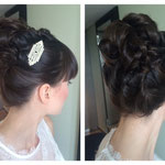 Hairstyling #Hairstylist #Mobil Hairstylist #Mobil Make-up Artist Düsseldorf #Braut Frisur