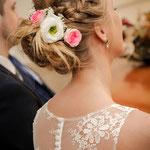 Braut Frisur # Hochzeitsfrisur #Brautstyling #Braut Make-up  Düsseldorf #Profesionelle Visagistin