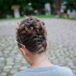 Braut styling # Braut Frisur #Mobile Visagistin #Kinder Frisur