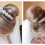 Hairstyling #Hairstylist #Mobil Hairstylist #Mobil Make-up Artist Düsseldorf #Hochzeits Frisur