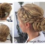 Braut styling #Braut Make-up # Braut Frisur #Mobile Visagistin #Abend Frisur
