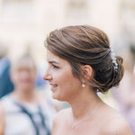 Braut Frisur # Hochzeitsfrisur #Braut Make-up #Hochzeits Make-up