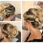 Braut styling #Braut Frisur # Braut Hochsteckfrisur #Mobile Visagistin #Braut Hairstyling