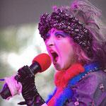 """""""Мина и Поль"""" на """"ClownFest"""" в Сокольниках . Номер-песня """"Анжелина Джоли"""" - Дура"""
