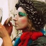 """""""Мина и Поль"""" на """"ClownFest"""" в Сокольниках  - Мина (Анастасия Сова-Егорова) грим"""