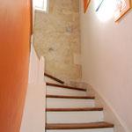 L'escalier vers le 1er étage