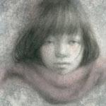 「dessin1」 2016/01/15 (A4 パステル等/紙)