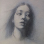 「dessin」 2016/07/15 (F8 木炭等ミクストメディア/紙)