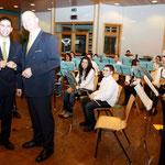 Cäciliefeier 2011 - Iwwerreeschung vum Dirigentestaf