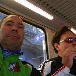 Freitag - im Zug von Ingolstadt nach München