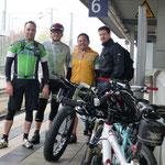 halb neun am Nordbahnhof (Jörg, Walter, Markus, Felix)