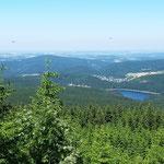 Stoneman 2016 bronze - Aussicht vom Auersberg