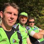 Samstag - Wartezeit wegen Bikeworkshop II auf dem Aufstieg zu oberen Firstalm