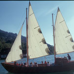 Fahrt mit der Santa Maria Loretto auf dem Großen Alpsee