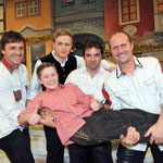 19.11.2010 Herbert Roth Gala MDR (Suhl) mit den Randfichten und André