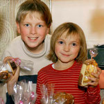 06.12.2002 Weihnachtsmarkt (Bobenneukirchen) mit Schwester Katharina