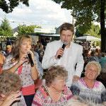 04.08.2012 Gartenfest Naturfreunde (Oelsnitz) mit Johanna