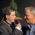 14.11.2010 10 jähriges Bühnenjubiläum (Reichenbach) mit Produzent David Ritt