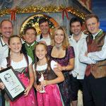 18.11.2011 Herbert Roth Gala MDR (Suhl) mit Selina & Laureen, Stefanie Hertel, den Randfichten und Eberhard Hertel