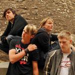 27.06.2008 mit seiner Band Rock Village (Oelsnitz)