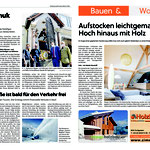 Zeitungsartikel Restaurationsarbeiten Figur Hl. Nepomuk Zell am See 2020