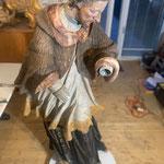 Restaurationsarbeiten Figur Hl. Nepomuk Zell am See 2020