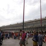 サンマルコ広場。流石に人が多い!