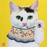 招き猫チロル