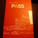 roma pass。結構便利でした☆