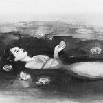 夏目漱石「草枕」挿絵:熊本日日新聞
