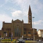 フィレンツェともお別れ。最後にサンタマリアノヴェッラ教会。