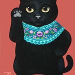 招き猫黒猫