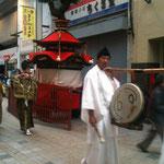 蘇鉄の笠鉾