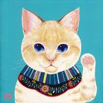 招き猫雪福