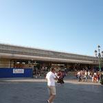 サンタルチア駅は改装中。写真撮りたかったけれど、イメージが違う・・・!