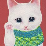 招き猫雪福仔猫