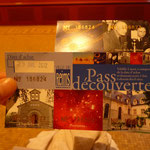 このチケットは共通で、入館した所で切ってもらいます。