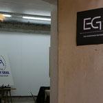 provisional EGB headquarters at Kora Jüngers' atelier