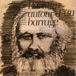 Karl Marx - Fusain - Commande Dernière Leçon