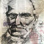 Schopenhauer - Fusain - Commande Dernière Leçon