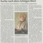 Bericht über die Lesung in Pirmasens/D