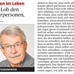 Kolumne in der Rheinzeitung März 2016