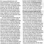 Leserbrief zu den Kantonsratswahlen