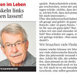 Kolumne in der Rheinzeitung