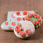 Gedecoreerde koekjes
